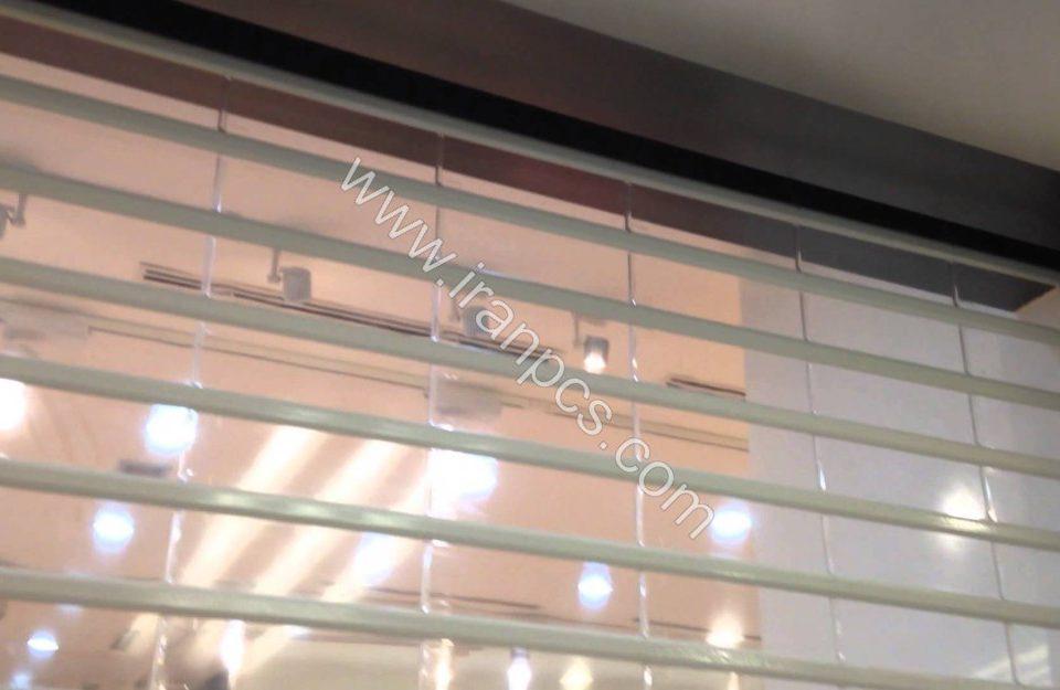 تیغه کرکره شیشه ای