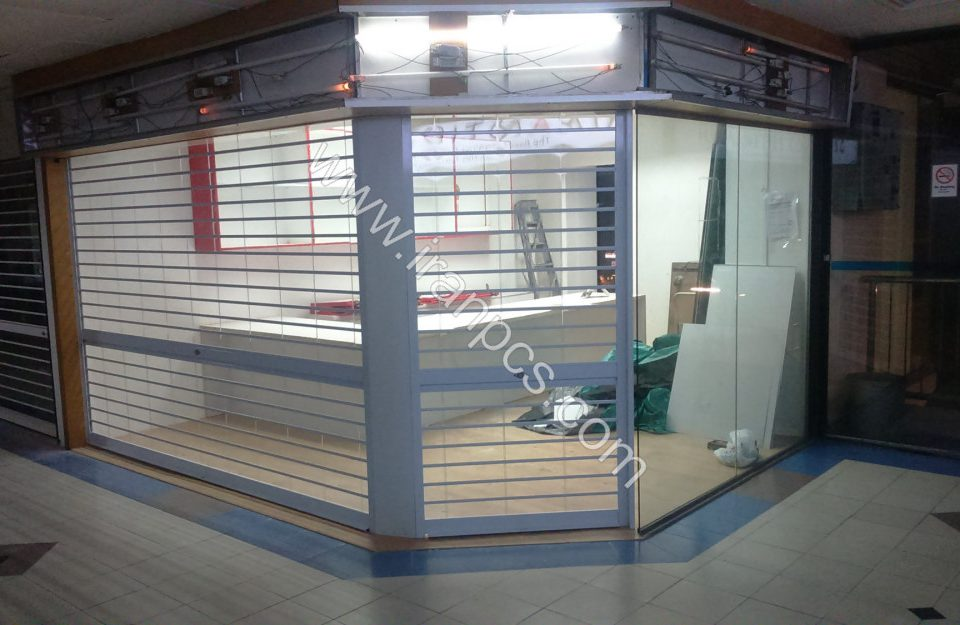 فروش کرکره شیشه ای