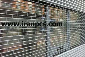 کرکره پلی کربنات نصب در مغازه پاساژ