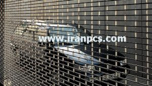 کرکره پلی کربنات در پارکینگ ساختمان