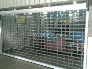نصب کرکره پلی کربنات برای فروشگاه سامسونگ