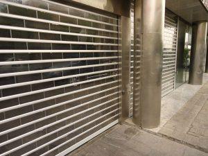 کرکره پلی کربنات در مغازه سیفورا