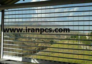 کرکره پلی کربنات در مغازه شمال کشور