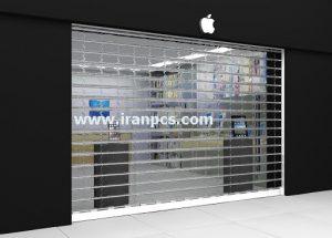 کرکره پلی کربنات نصب در مغازه چمران