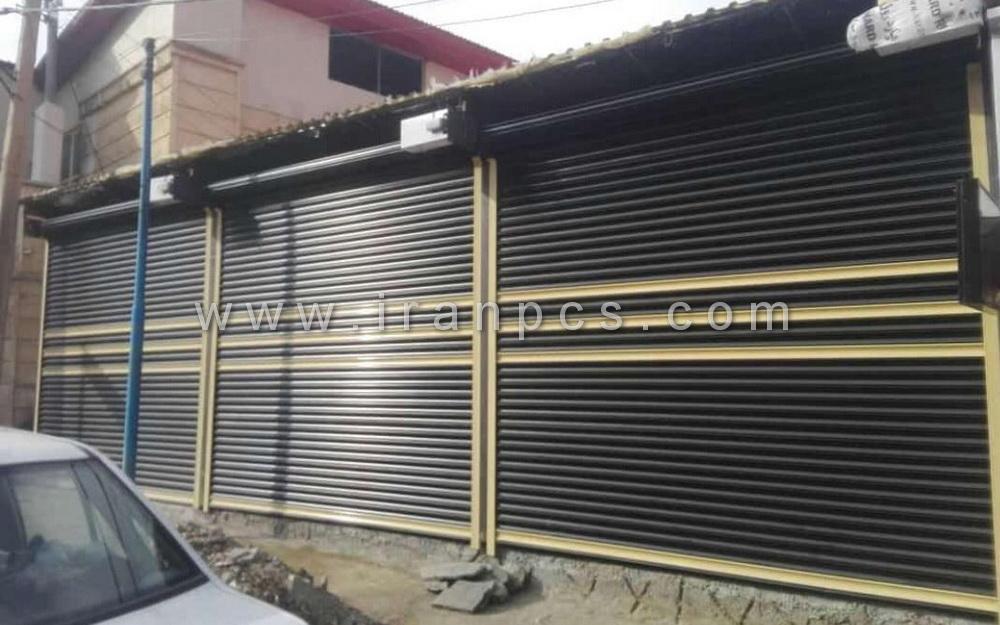کرکره برقی ضد سرقت مغازه